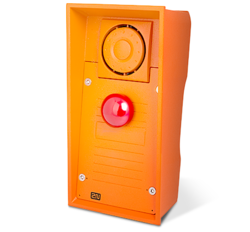 2N® Helios IP Safety s červeným nouzovým tlačítkem