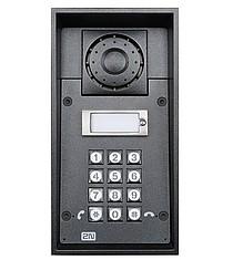 2N® Helios IP Force s 1 tlačítkem a klávesnicí