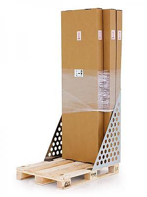 Rozvaděč RXA-800 je dodáván ve třech krabicích