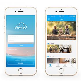 Sledovat živý obraz z kamer Dahua můžete díky cloudové službě Easy4IP