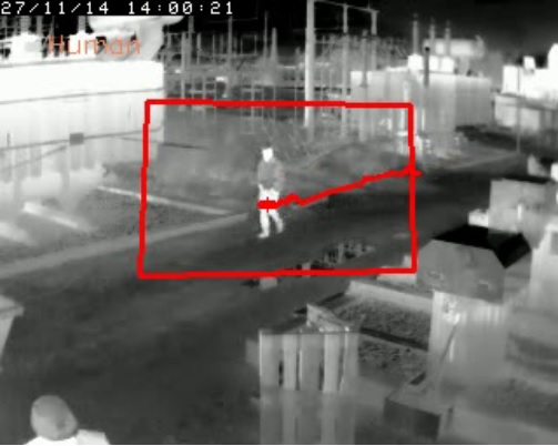 S kamerami FLIR FC-Series ID můžete snadno nastavit vlastní trasy a oblasti zájmu