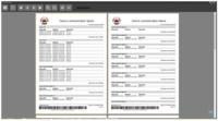 Report ze systému Digifort, obsahující informace o výpadcích kamer