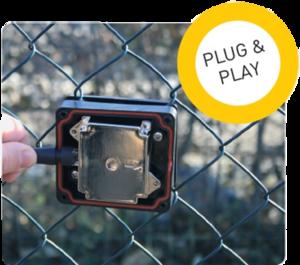 Instalace systému SIOUX pomocí metody Plug&Play velmi urychluje instalaci