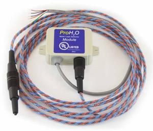 Detekční kabel sloužící k upozornění na únik vody.
