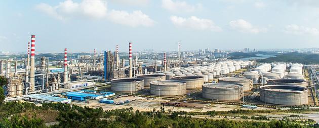 Systém ProReact je ideální k využití v rafinériích a dalších průmyslových objektech.