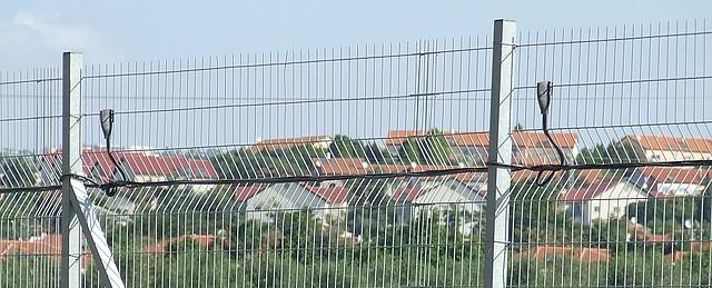 Ukázka instalace plotového systému V-Alert