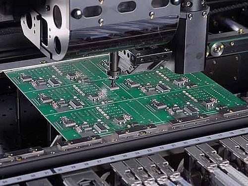 Výroba elektronických desek turniketů PERCo