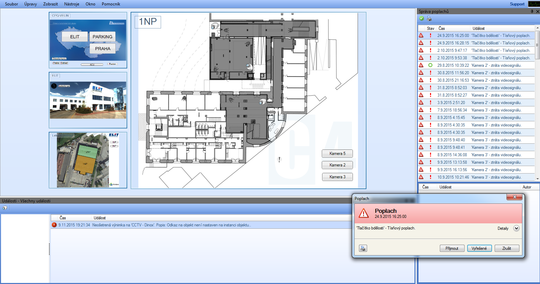 Ukázka prostředí grafické nadstavby C4