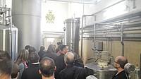 Po výkladu následovala prohlídka prostor pivovaru Černá Hora