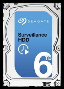 6 TB pevný disk Seagate Surveillance