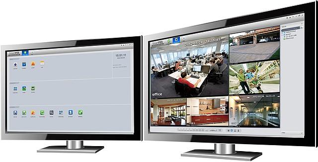 Ukázka rozhraní softwaru SmartPSS