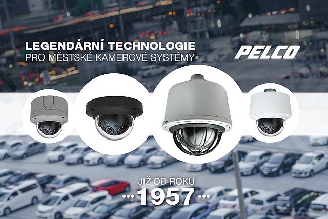 Společnost PELCO patří mezi nejvyhledávanější dodavatele kamerových systémů