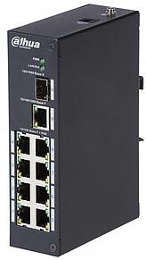 Switch DH-PFS3110-8P-96 je vhodný pro využití v průmyslových objektech