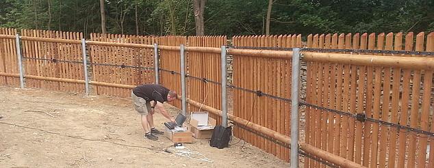 Detekční systém SIOUX je ideální i pro dřevěné ploty