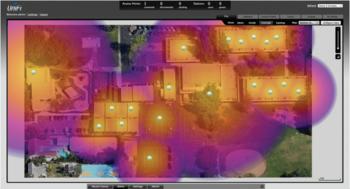 Dokážete na mapě signálu najít hluché místo?