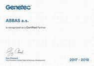 Certifikace GENETEC
