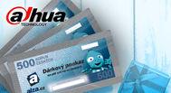V říjnu rozdáváme 2500 Kč vouchery za nákup Dahua