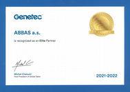 ABBAS obhájil status Elitního partnera společnosti Genetec