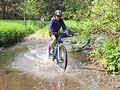 Na kolech údolím Bílého potoka