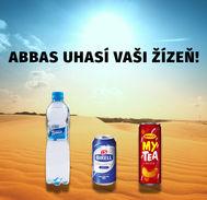 Abbas uhasí Vaši žízeň!