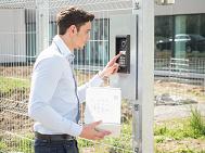 Typické aplikace dveřních komunikátorů