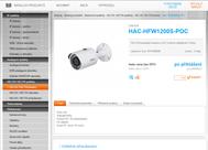 Novinky HDCVI v produktovém katalogu
