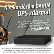 UPS jako dárek k nákupu rekordérů DAHUA!